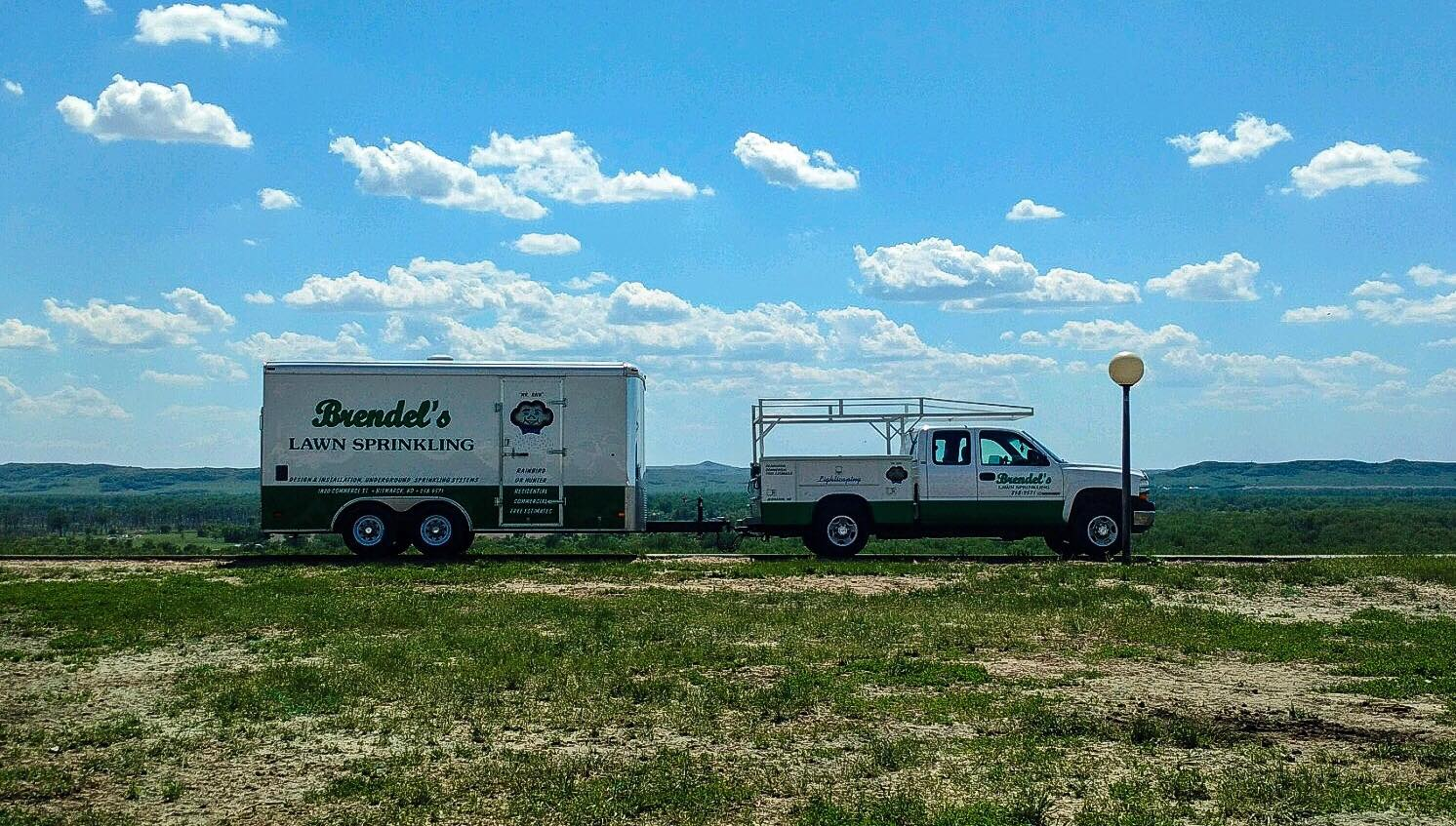 lawn sprinkling installations and repairs in Bismark, ND
